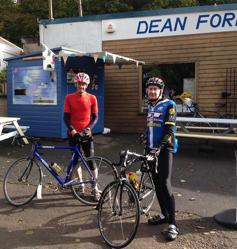 Need to refuel on your cycle route? The Monmouth Wheelers know all the best places in the Forest of Dean and Wye Valley