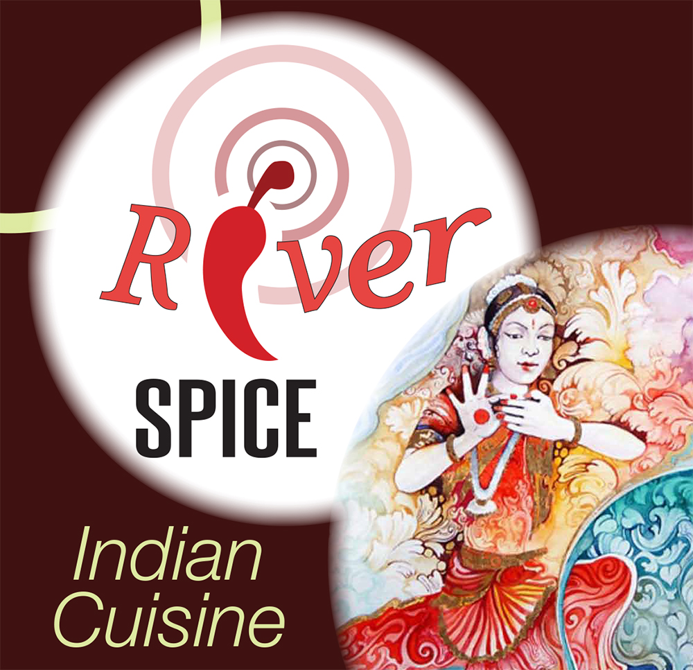 The River Spice Indian restaurant logook