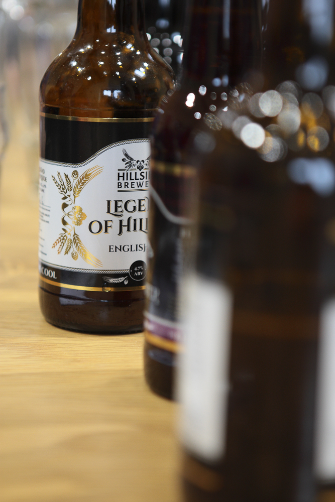 You can check out Hillside's fab craft ales and artisan beverages for yourself on Sunday Feb 1st 2015.