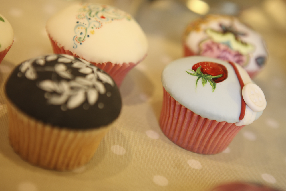 People go mad for her cupcakes and it's easy to see why!