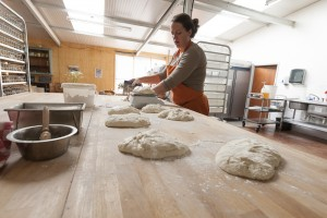 Traditionally made bread from the Forest Bakehouse at Longhope.