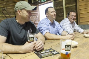 Paul Williamson launches new beers launch at Hillside Brewery.