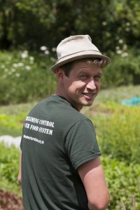 Ben Hanslip, Ragman's Lane Market Garden, David Broadbent Photography, copyright, grow, salads, producer,