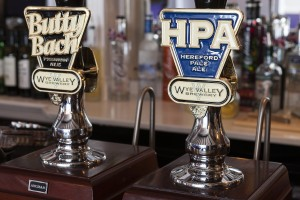 Wye Valley Brewery ales. The Crown at Whitchurch, David Broadbent Photography