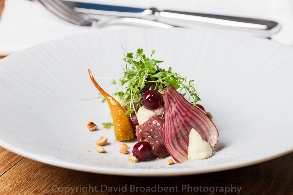 Tudor Farmhouse Hotel, Clearwell, Forest of Dean, Gloucestershire, David Broadbent Photography, Rob Cox, fine dining, restaurant,