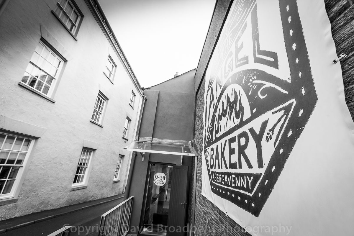 The Angel Hotel, Abergavenny, David Broadbent Photography, bakery, bread, baking, artisan, Cross Street,