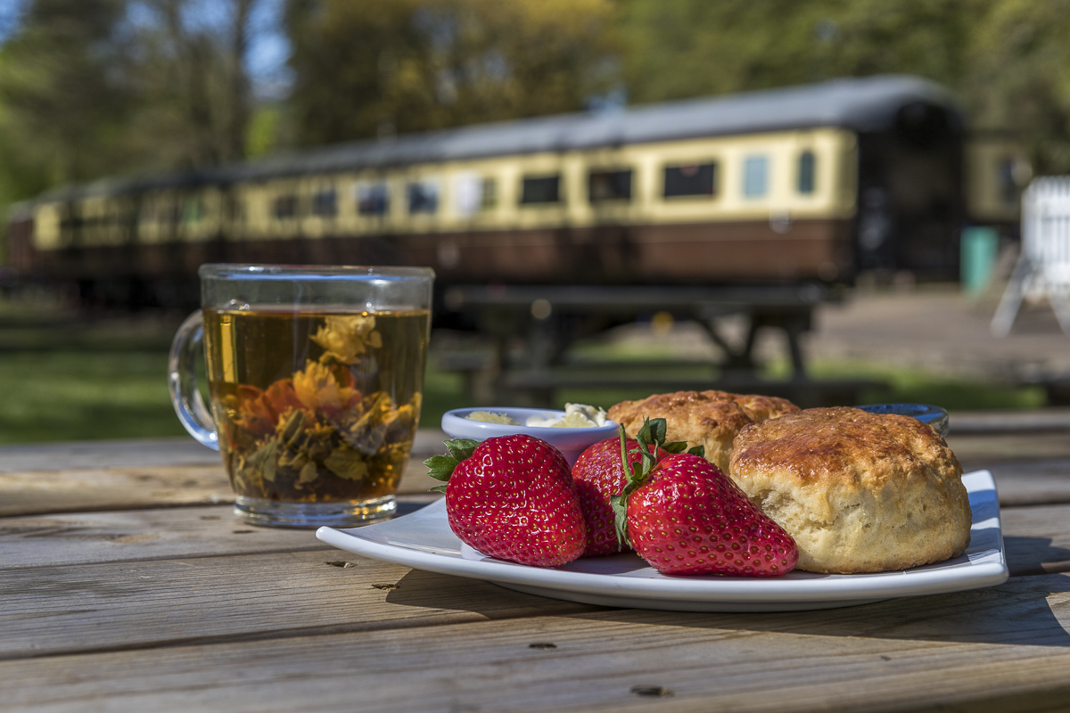 David Broadbent Photography, Tintern Station, Wales, cream tea, Monmouthshire, award winning, Victorian,